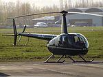 G-LINZ Robinson Raven 44 Helicopter (25976150654).jpg