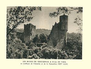 G.-L. Arlaud-recueil Vals Saint Jean-Ventadour, les ruines-01.jpg