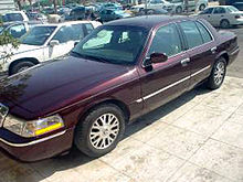 Middle Eastern 2003 Grand Marquis LS, equipped with the Export Handling Package featuring '03–'05 LSE wheels