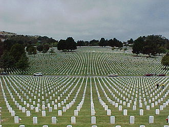 United States National Cemetery System - Golden Gate National Cemetery, California