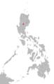 Gaddang language map.png