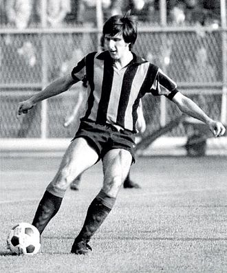 Atalanta B.C. - A young Gaetano Scirea, one of the most famous footballers produced by the Atalanta youth system, during the 1972–73 season
