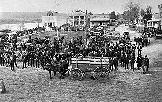 Galesville, Wisconsin - Image: Galesville, Wisconsin (c. 1870s)