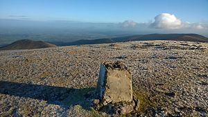 Galtymore - Galtymore Summit - Trig Point