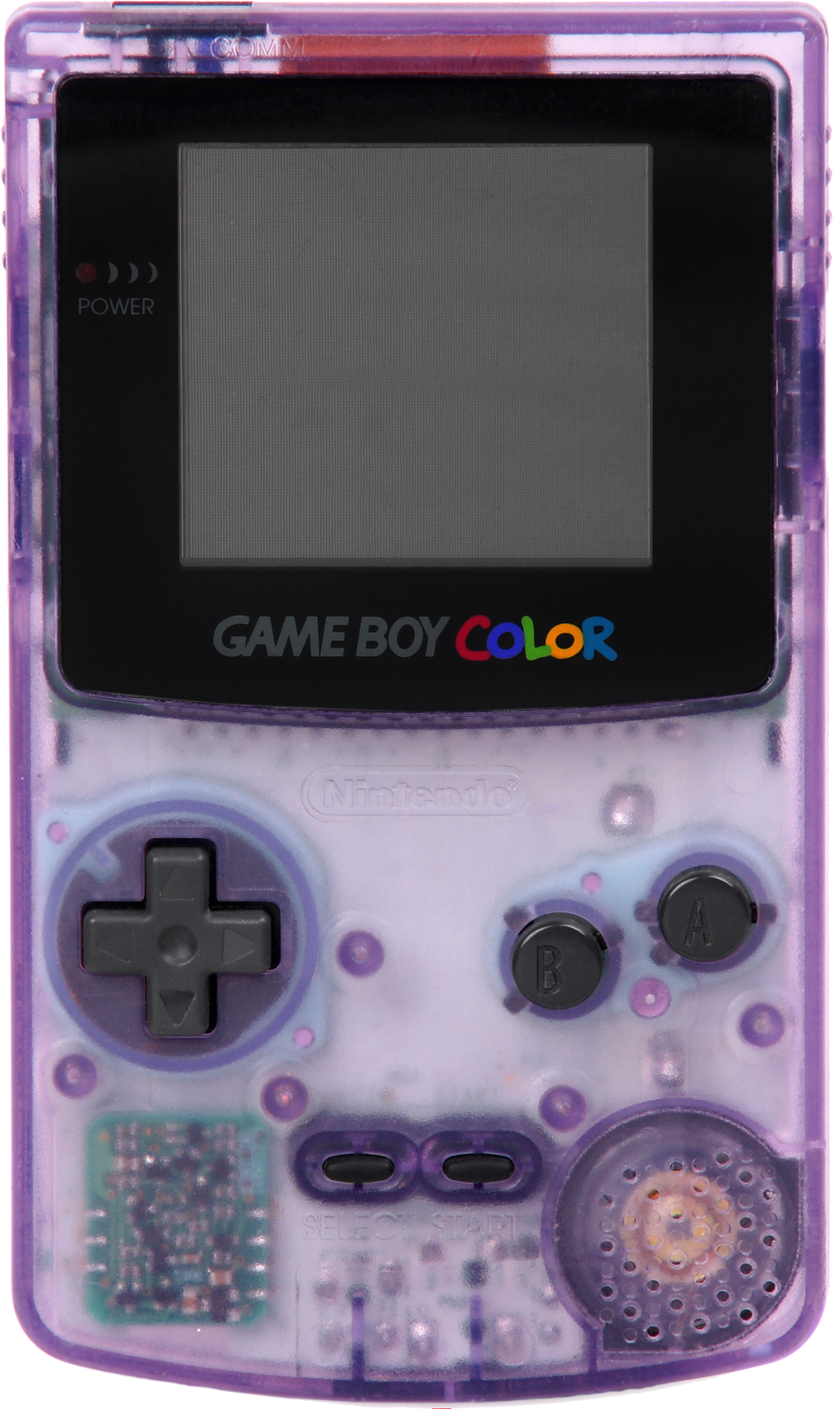 File Game Boy Color Purple Png Wikimedia Commons