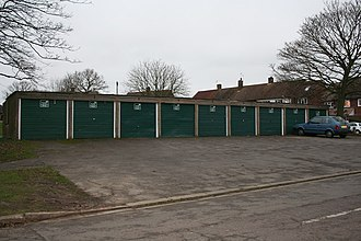 Kling v Keston Properties - A typical row of (domestic) garages