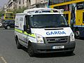 Garda Low-height Ford Transit 11D8657 based at Pearse Street Station - Flickr - D464-Darren Hall.jpg