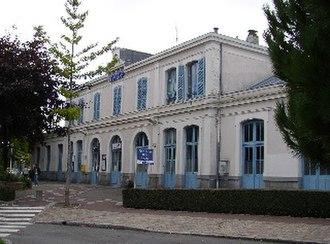 Flers, Orne - Train station of Flers-de-l'Orne