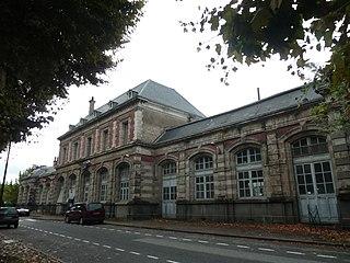 railway station in Varen, France