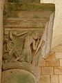 Gargilesse-Dampierre (36) Église Saint-Laurent et Notre-Dame Chapiteau 24.JPG