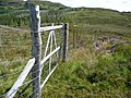 Gate on the path to Ardintoul - geograph.org.uk - 1414067.jpg