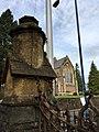 Gates of the former King Henry VIII Grammar School, Abergavenny, October 2018 (5).jpg