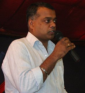 Gautham Menon Indian film director, actor and producer