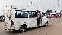 Gbaka reliant Yopougon à Adjamé en Abidjan