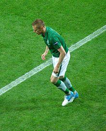 Duff with the Republic of Ireland during UEFA Euro 2012. Blackburn Rovers 7f63e450585