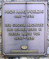 Gedenktafel Tannenbergallee 28 (Weste) Hans Poelzig.jpg