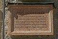 Gedenktafel an Paul Hofheimer im Petersfriedhof.jpg