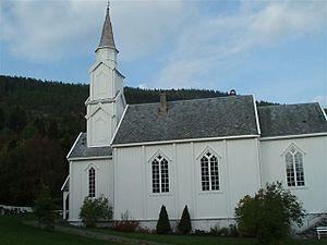 Geitastrand Church - Image: Geitastrand kirke