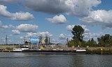 Gelsenkirchen-Horst, opslagcontainers van Aral-Ultimate aan het Rhein-Hernekanaal IMG 8424 2018-09-01 12.24.jpg