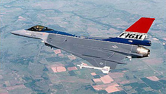 General Dynamics F-16XL - The F-16XL which competed with the F-15E for the USAF's Enhanced Tactical Fighter contract in 1984
