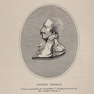 George Thomas (soldier) Raja from Tipperary