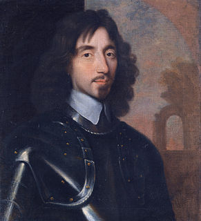 Thomas Fairfax Parliamentary commander-in-chief during the English Civil War