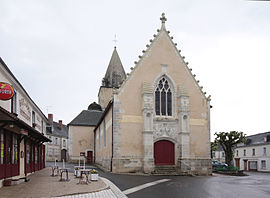 The church of Sainte-Eulalie, in Genillé