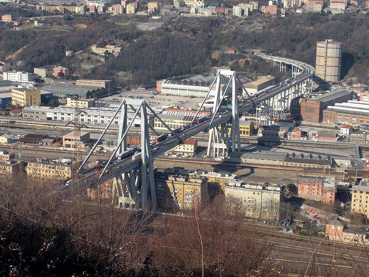 Pont morandi wikip dia for Piscina g s roma 53 roma