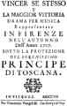 Georg Friedrich Händel - Rodrigo - title page of the libretto - Florence 1707.png