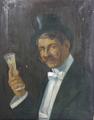Georg Lampe - Le bon vivant, 1910.png