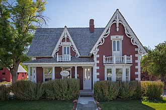 National Register of Historic Places listings in Wasatch County, Utah - Image: George Bonner Jr House