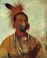 George Catlin - Wash-ka-mon-ya, Fast Dancer, a Warrior - 1985.66.520 - Smithsonian American Art Museum.jpg