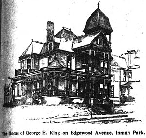 Inman Park - George Edward King home, 1896