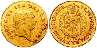 George III Half-Guinea 641655