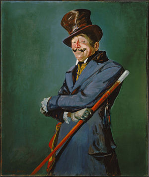 Otis Skinner - Otis Skinner as Col. Philippe Bridau, painted in 1919 by George Luks