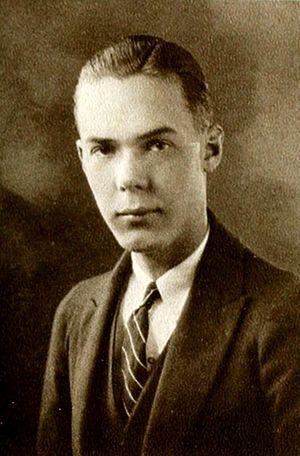 George V. Allen - 1924 Duke University Senior Yearbook Photo