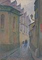 Georges Castex La rue des cloches à Toulouse Musée des Augustins 496161.jpg