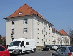 Gerader Steg in Dresden