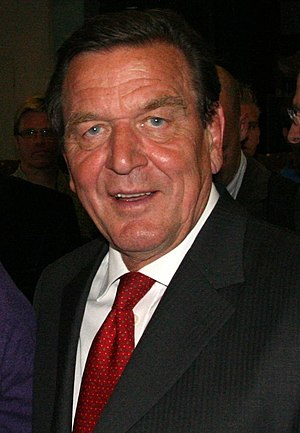 30th G8 summit - Image: Gerhard Schröder (cropped)