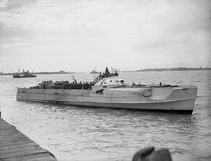 E-boat - Image: German E Boat S 204 surrenders at Felixstowe on 13 May 1945
