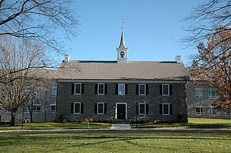Germantown Academy - A view of the Administration Building, an exact replica of the original schoolhouse in Germantown
