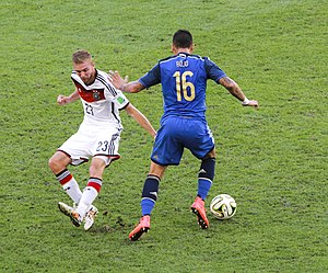 Christoph Kramer - Kramer getting blown past by Marcos Rojo in the 2014 FIFA World Cup Final.