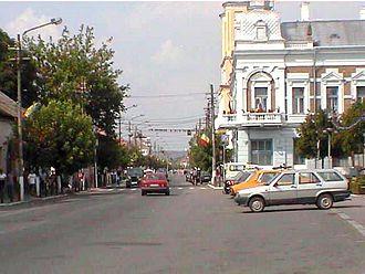 Gherla - Image: Gherla Strada Principala