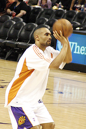 NBA Sportsmanship Award - Grant Hill, three-time NBA Sportsmanship Award winner.
