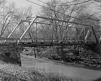 Gholson Bridge, Spanning Meherrin River at VA State Route 715, Lawrenceville vicinity (Brunswick County, Virginia).jpg