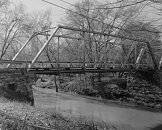 National Register of Historic Places listings in Brunswick County, Virginia - Image: Gholson Bridge, Spanning Meherrin River at VA State Route 715, Lawrenceville vicinity (Brunswick County, Virginia)