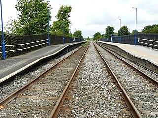 Giggleswick railway station Railway station in North Yorkshire, England