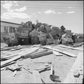 Gila River Relocation Center, Rivers, Arizona. Boxes for packing household goods. On September 15, . . . - NARA - 539838.tif