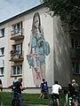 Girl with three hands. Mural in Jarocin.jpg
