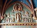 Gisors (27), collégiale St-Gervais-et-St-Protais, 2e collatéral nord du chœur, chapelle de l'Assomption, haut-relief - litanies de la Vierge.jpg